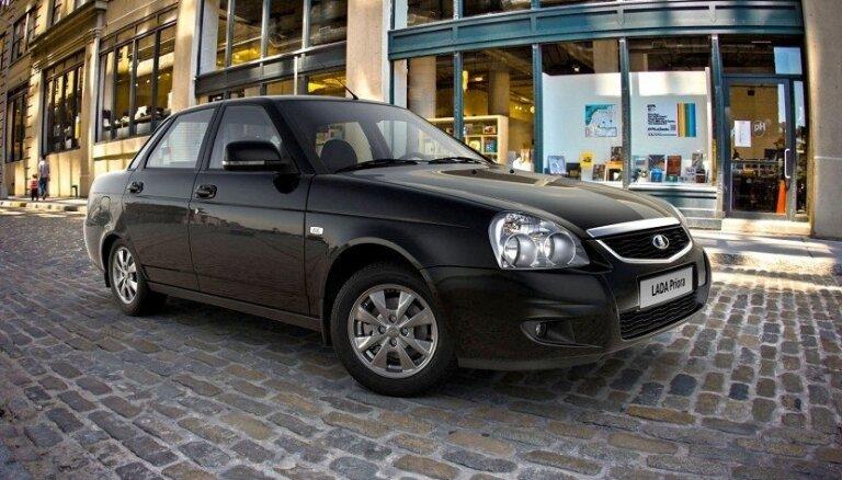 'AvtoVAZ' pārtraucis 'Lada Priora' modeļa ražošanu
