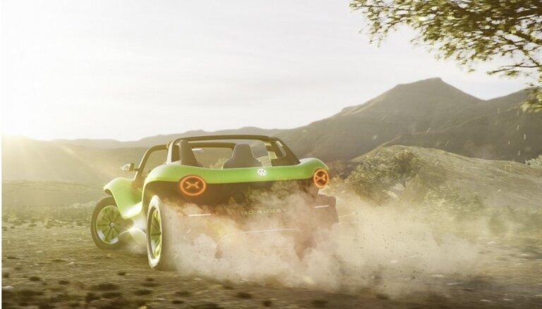 VW elektrificē ikonu – pludmales bagijs 'ID. Buggy'