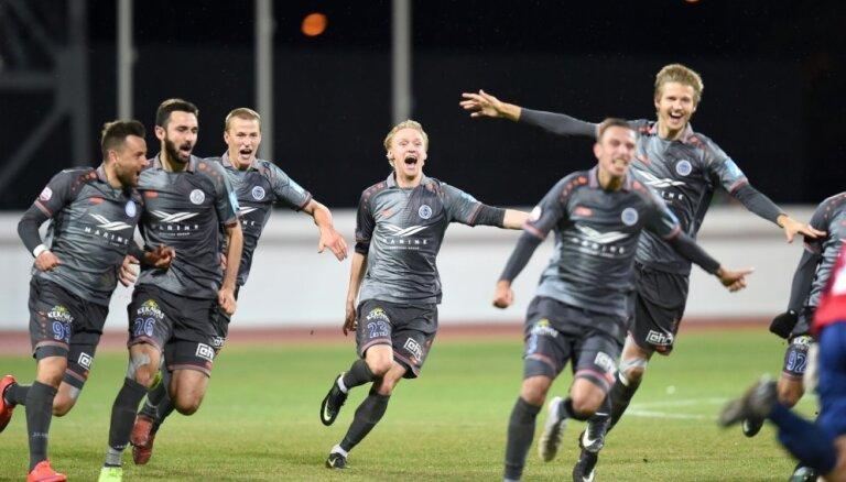 'Riga' pirmo reizi kļūst par Latvijas čempioni futbolā