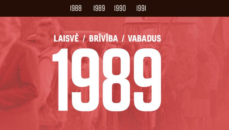 Mājupceļš brīvībā. Laiks un notikumi, kas mainīja Baltijas valstu likteni