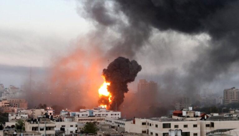 Израиль нанес воздушные удары по сектору Газа
