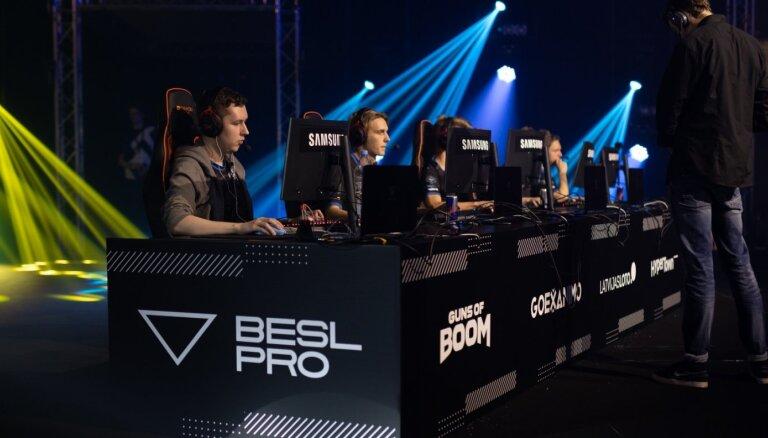 Baltijas esporta līgas ceturtās sezonas fināla nedēļa. Video tiešraide