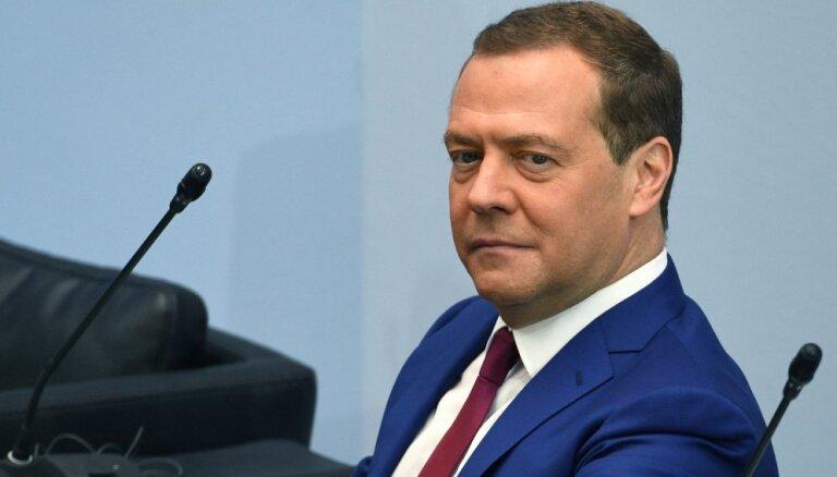 Медведев призвал убрать ракеты США из Европы и оценил эффект от санкций