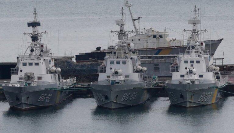 Lietuva aicina Krieviju atbrīvot aizturētos Ukrainas kuģus un jūrniekus un izbeigt agresiju