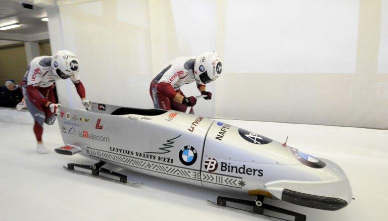 Pasaules kausa izcīņas bobslejā un skeletonā provizoriskajā plānā iekļauts arī Siguldas posms