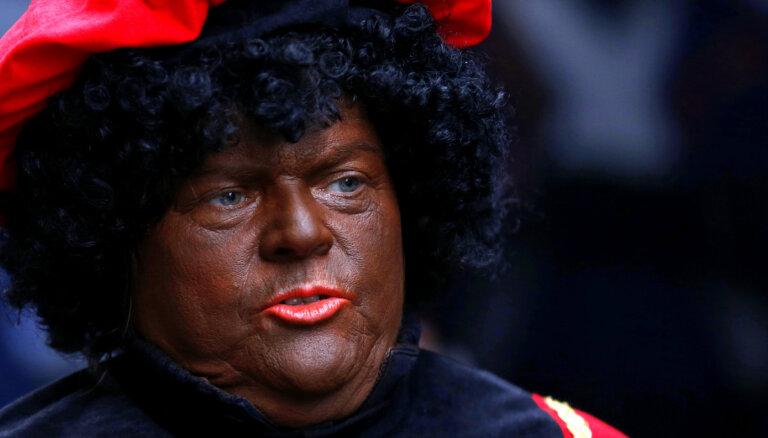 Nīderlandē rūk atbalsts Melnā Pīta tradīcijai
