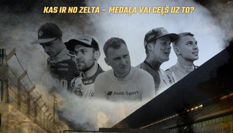 Tapusi dokumentālā filma 'Zelta gads' par Latvijas motoru sporta braucēju panākumiem