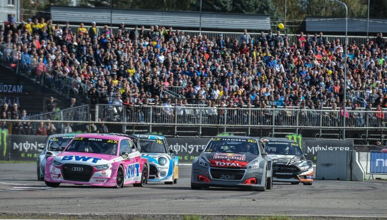 Pasaules rallijkrosa čempionāta posms Latvijā 2020. gadā visdrīzāk nenotiks