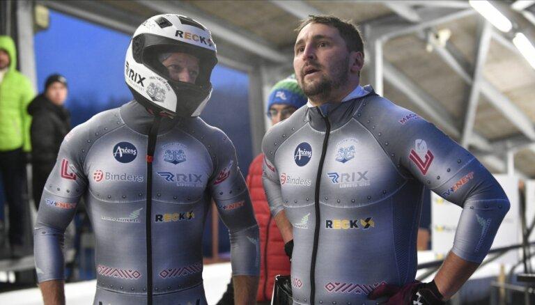 Melbārdis ar Dambi Siguldā otrajā braucienā izrauj uzvaru Eiropas kausa posmā