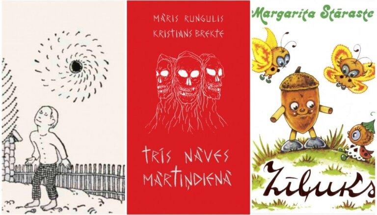 Top 10: Pašmāju bērnu grāmatas ar skaistām un interesantām ilustrācijām
