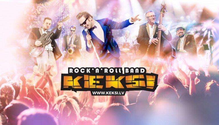 Latvijas rokenrola karaļi 'Keksi' svin 20 gadu jubileju un aicina uz koncertiem