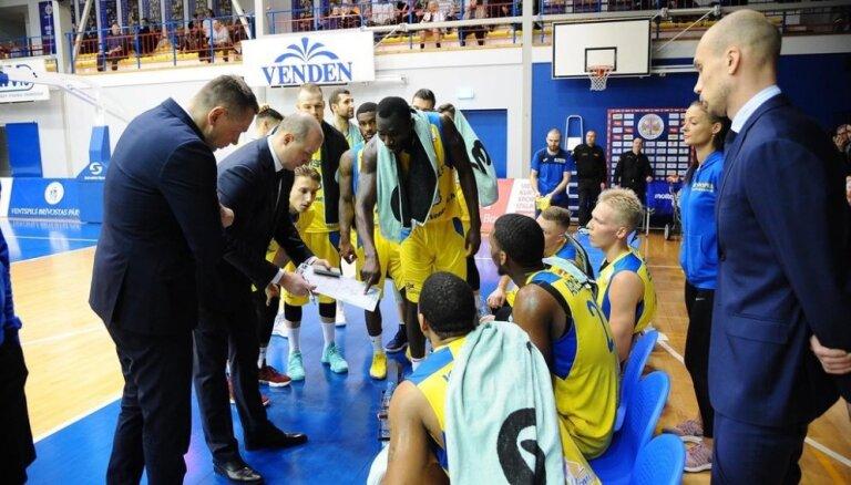 'Ventspils' basketbolistiem droša uzvara 'OlyBet' līgā; jūrmalniekiem negaidīts zaudējums