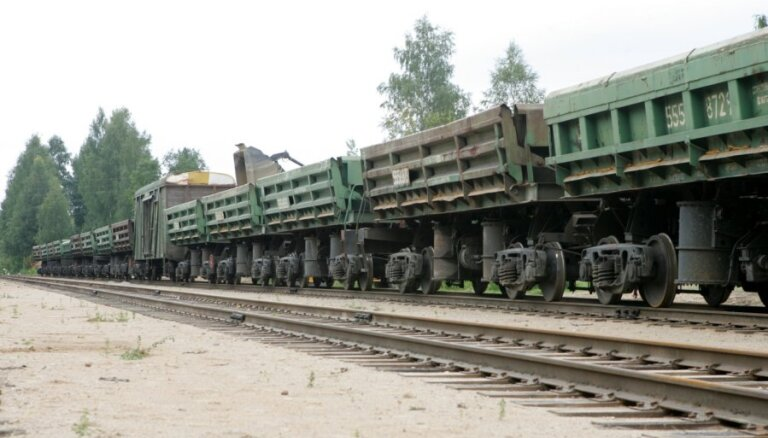 Спад железнодорожных грузоперевозок отмечен по всей Балтии
