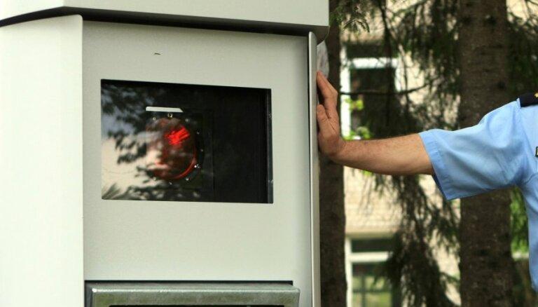 Латвия выписала первые штрафы превысившим скорость иностранцам