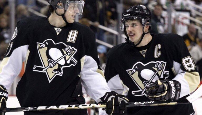 Krosbijs un Malkins sodīti par neierašanos uz NHL Zvaigžņu spēli