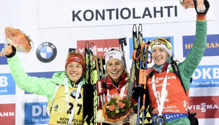 Дальмайер впервые проиграла за последние шесть гонок, Домрачева — третья