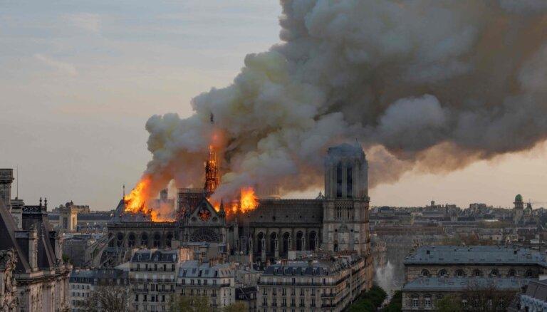 Pirmdien atsāksies Parīzes Dievmātes katedrāles atjaunošanas darbi