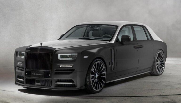 'Mansory' pārveidotais jaunais 'Rolls-Royce Phantom' limuzīns