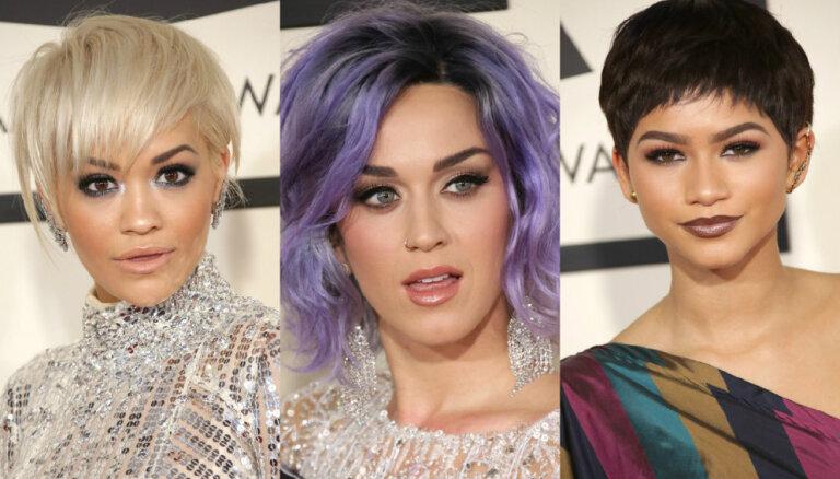 Прически и мейкап: самые интересные образы звезд церемонии Grammy