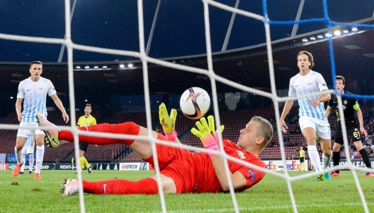 """ВИДЕО: Ванин и """"Цюрих"""" одержали первую победу в Лиге Европы"""