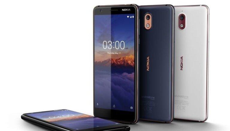 'Nokia' 3.1 ienāk Latvijas tirgū, cena – 159 eiro