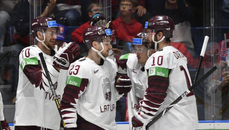 Latvijas hokeja izlase OS kvalifikācijā cīnīsies ar Franciju un Itāliju