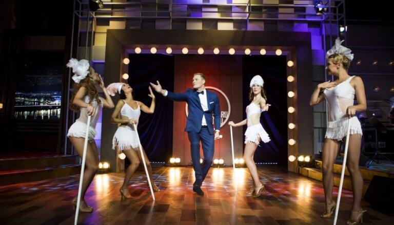 Foto: Ieskats Zeltiņa šova jaunās sezonas pirmajā raidījumā