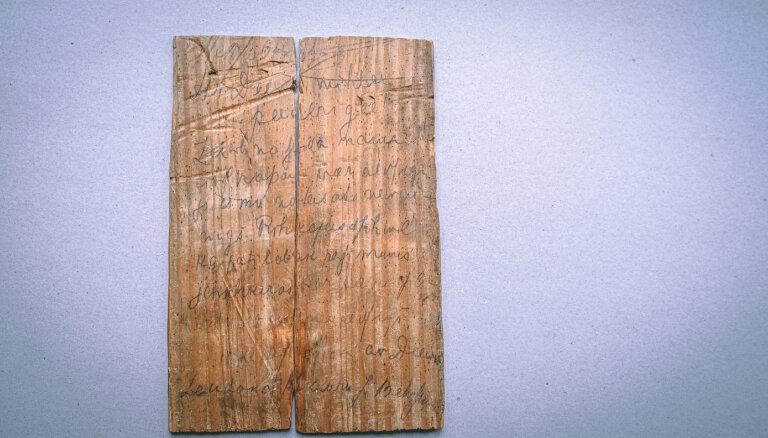 Pirmsnāves vēstule uz Pļaviņu cietuma durvīm, kas apceļoja pasauli