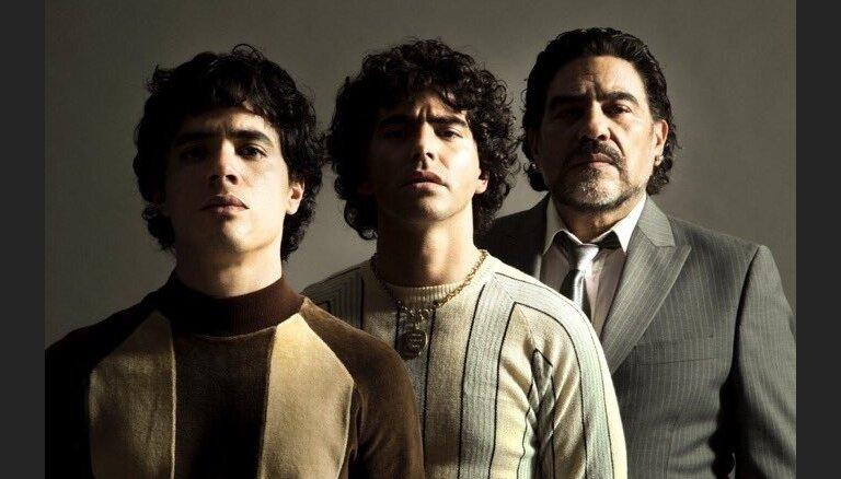 Djego Maradonu seriālā spēlēs trīs viņam ļoti līdzīgi aktieri