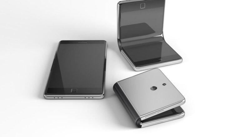'Samsung' šogad prezentēs viedtālruni ar salokāmu ekrānu