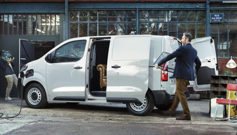 'Citroën' pirmais elektriskais komerctransporta modelis 'ë-Jumpy'