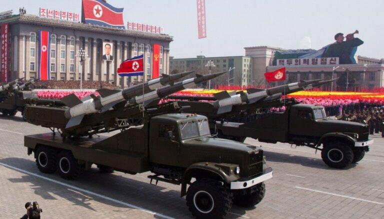 Pētījums atklāj vienu no slepenajām Ziemeļkorejas raķešu bāzēm