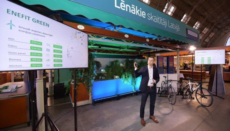 'Enefit' uzsācis elektroenerģijas tirdzniecību Latvijas mājsaimniecībām