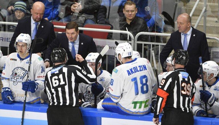 'Baris' atsauca dalību no Gagarina kausa; KHL vēl turpina sacensības