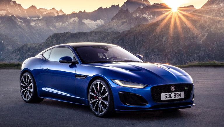 'Jaguar' prezentējis jauno 'F-Type' sportisko modeli