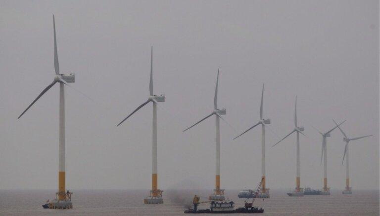 Latvija un Igaunija cer veidot kopīgu jūras vēja parku, paziņo EM