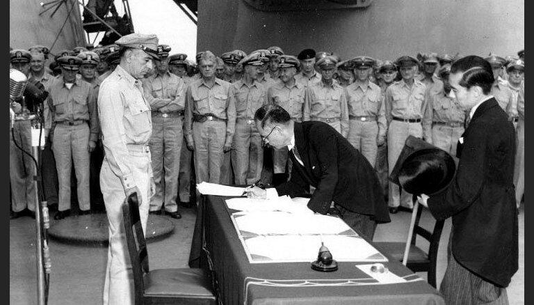 Atskats vēsturē: Aprit 70 gadi, kopš Otrais pasaules karš patiešām beidzās