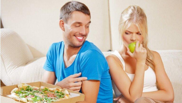 Pieci uztura elementi, kas tev traucē cīņā ar lieko svaru
