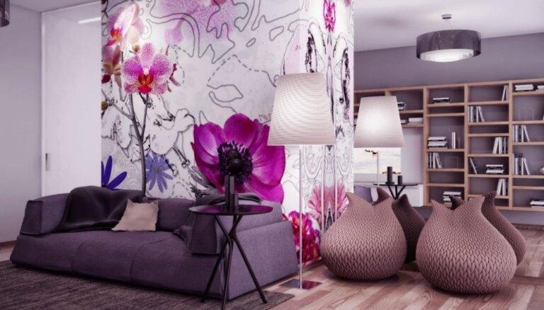Foto: 22 drosmīgi rozā idejas mājoklim