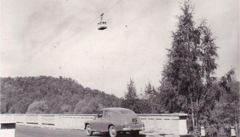 Ceļojums laikā: zelta rudens Siguldā pirms 60 gadiem