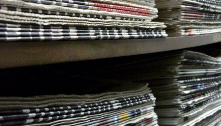 Būtiski kritusies laikrakstu, grāmatu un brošūru tirāža latviešu valodā, liecina pētījums