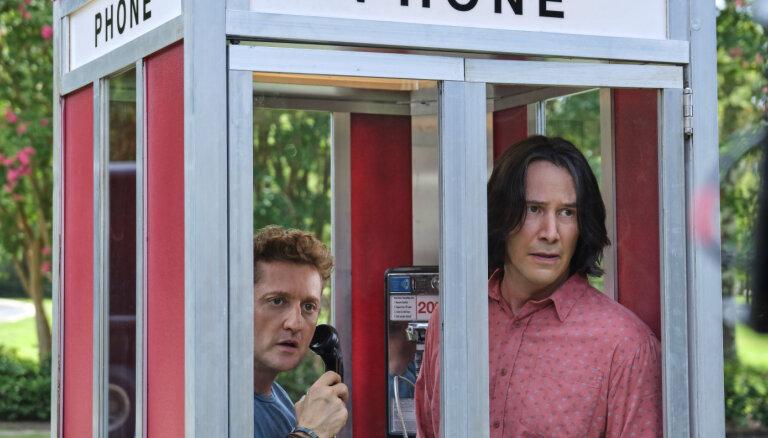 Noskaties! Kianu Rīvss un Alekss Vinters atgriežas ar 'Bill & Ted Face the Music'
