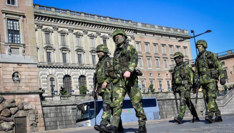 Zviedrijā izsludina vērienīgāko zemessardzes mobilizāciju kopš 1975. gada
