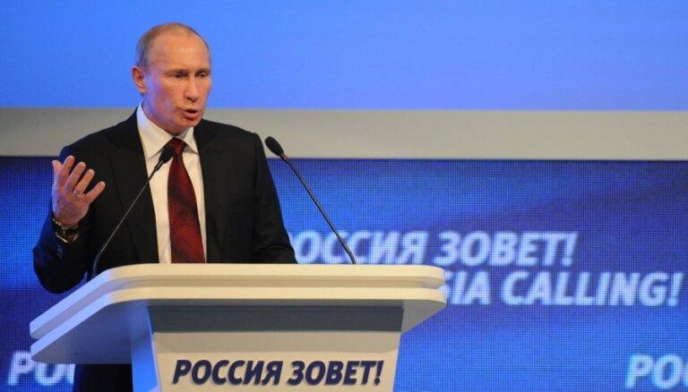 Песков: Путин лично пишет предвыборную программу