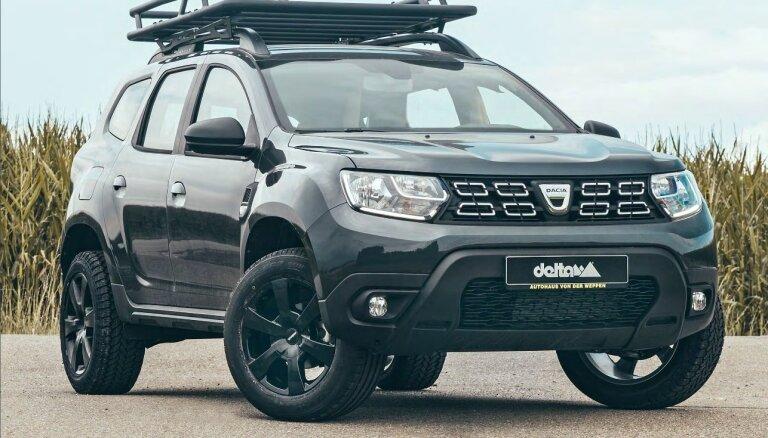 Vācu 'Delta 4x4' pārveidojumi rumāņu 'Dacia Duster' apvidniekam