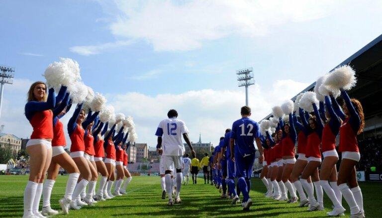 В субботу определится чемпион Латвии по футболу