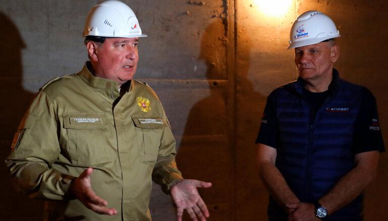 Rogozins atlaiž virkni Krievijas topošā kosmodroma attīstītāju