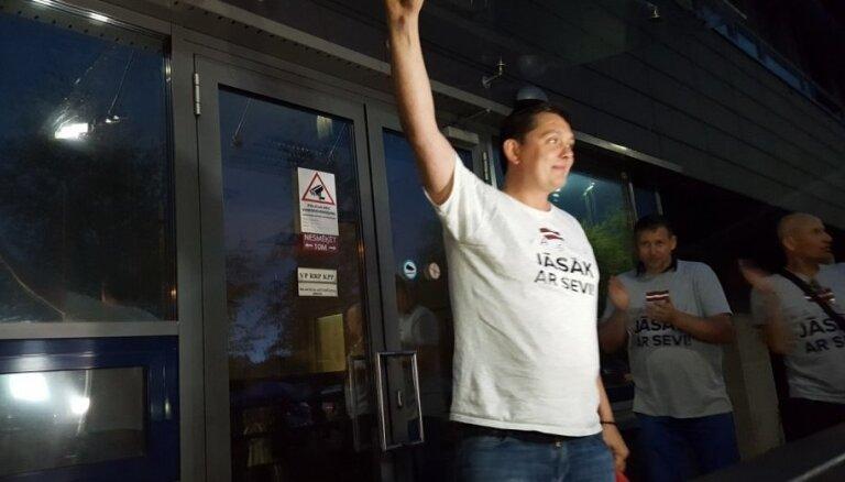 ФОТО: Как лидеров KPV LV освободили из БПБК