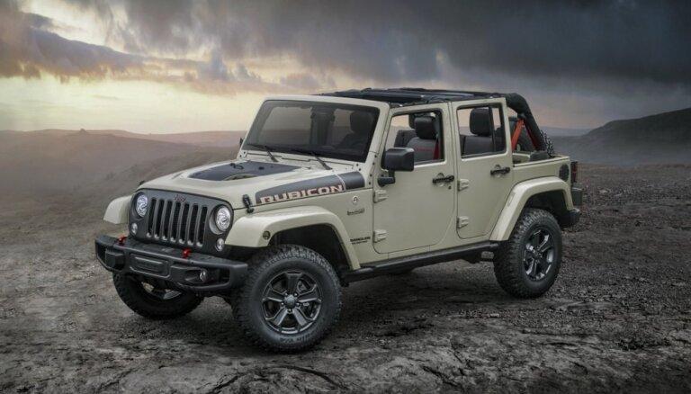 'Jeep Wrangler' uzlabotās pārgājības versijā 'Recon'