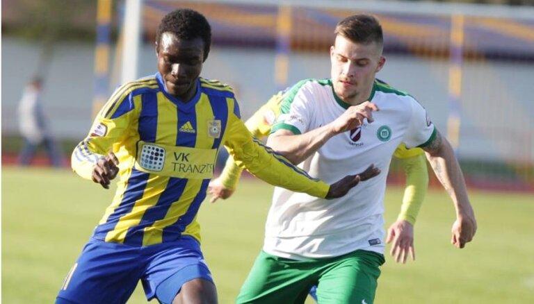 'Ventspils' futbolisti otrajā puslaikā nokārto uzvaru pār 'Metta'/LU
